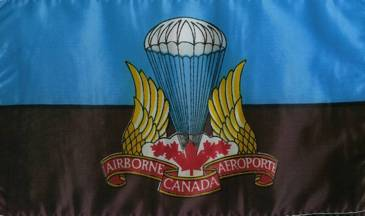 Airborne regiment flag