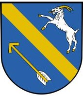 [Střelské Hoštice coat of arms]