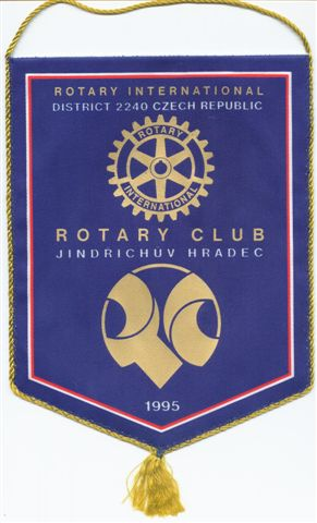 [Flag of Rotary Czech Republic]