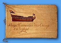 [Ship's Carpenters flag]