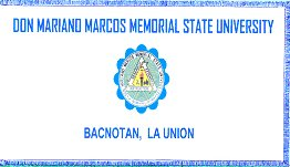 [Don Mariono Marcos Memorial State University, Philippines]