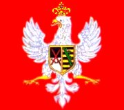 [Banner of Kingdom of Poland during Saxon reign]