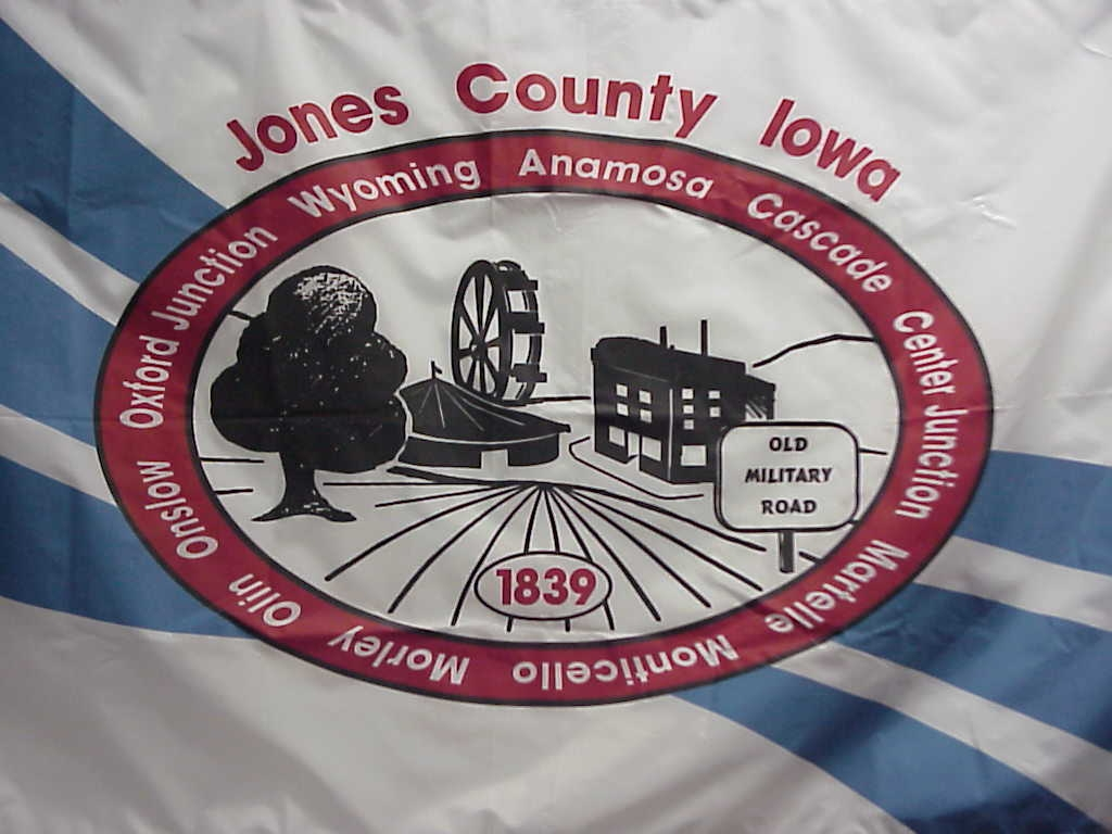 [Flag of Jones County, Iowa]