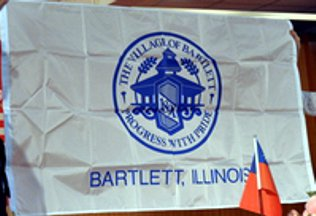 [Bartlett, Illinois flag]