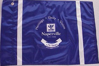 [Naperville, Illinois flag]