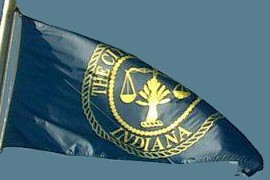 [Flag of Evansville, Indiana]