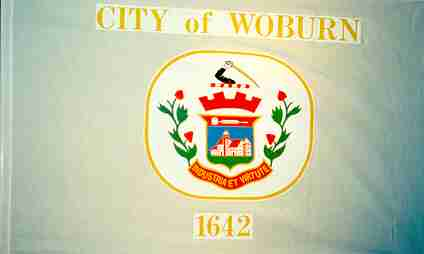 [Flag of Woburn, Massachusetts]