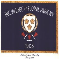 [Flag of the Village of Floral Park, New York]