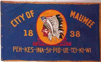[Flag of Maumee, Ohio]