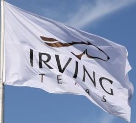[Flag of Irving, Texas]